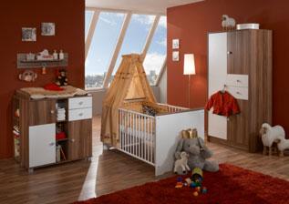 aktuelles angebot - Kinderzimmer Nussbaum Weis